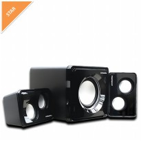 Simbadda Speaker CST 3500N (Includes USB Port,memory and Blutooth)