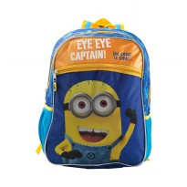 Despicable Me Minion Captain Bagpack 16'