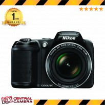 Nikon Coolpix L340 Prosumer Camera - Hitam