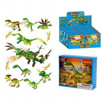 COGO DINOSAURUS - DINO 8 MODELS -COLLECT THEM ALL