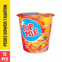 Pop Mie Kuah Pedes Dower 1 Dus-12pcs 1pc 900gr