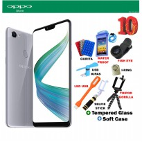 Oppo F7 Silver Free 10 Item