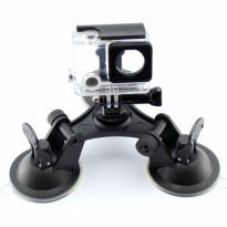 Suction Cup 3 Feets Triangle Mount Xiaomi Yi / Yi 2 4K / Gopro / SJcam