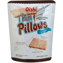 Oishi Snack Thin Pillows Chocolate 60