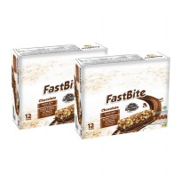 Fastbite Cereal Bar Rasa Cokelat 2 Box (@12 pcs)