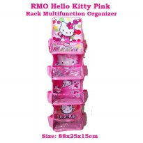 RMO Hello Kitty Pink Muda (Rack Multifunction Organizer) Rak Multifungsi Karakter
