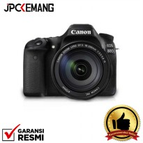 Canon EOS 80D kit 18-200mm IS Built-in WiFi GARANSI RESMI