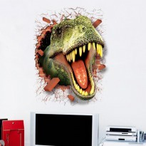 Sticker Wallpaper Dinding Dinosaurus