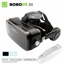 BOBOVR Z4 Virtual Reality 3D Glasses VR Box With Remote full black