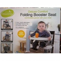 Bouncer Bayi MASTELA FOLDING BOOSTER SEAT CREAM
