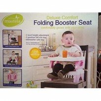 Bouncer Bayi MASTELA FOLDING BOOSTER SET PINK