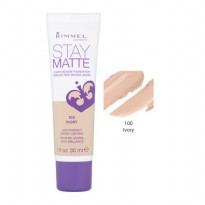 RIMMEL STAY MATTE LIQUID MOUSSE FOUNDATION IVORY