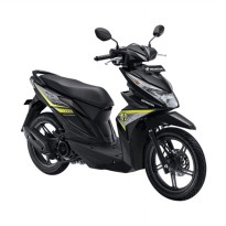 All New BeAT eSP FI Sporty CBS Garage Black (OTR Jawa Timur)