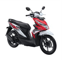 All New BeAT eSP FI Sporty CBS Funk Red White (OTR  Jawa Timur)