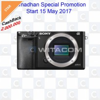 Sony ILCE-A6000 Body - Black