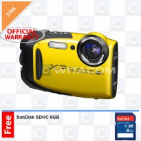 Fujifilm Finepix XP80 - YELLOW