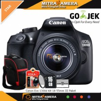 Canon Eos 1300d Kit 18-55mm III Paket