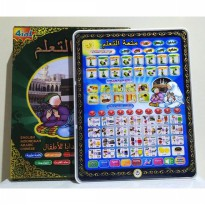 Mainan Edukasi PLAYPAD ANAK MUSLIM 4 BAHASA WITH LED ,PLAYPAD ARAB