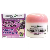 Healthy Care Lanolin Cream With Grape Seed 100g Krim Anti-Aging