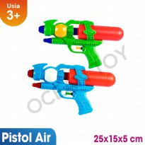 Buy 1 Get 1 Free Ocean Toy Pistol Air Mainan Anak OCT8108 - Multicolor