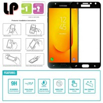 LP Full Tempered Glass Samsung Galaxy J7 Duo