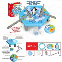 Mainan SAVE THE PENGUIN TRAP ICE BREAKING