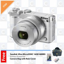Nikon 1 J5 Kit 10-30mm - White
