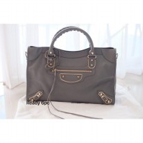 Balenciaga City Edge Griss Acier