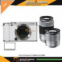 Fuji X-A2 Double Kit 16-50MM & 50-230MM