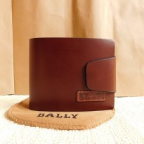 Mantap Dompet Kulit Pria Bally 023 2347 Brown Import Quality  Zr3310