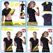 Hot Shaper Shirt BAJU KUNING HITAM