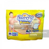 Sweety Popok Bayi Bronze Pants - M 20+2