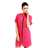 Vioale Code 018 Pink dress for woman