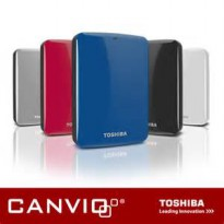 TOSHIBA CANVIO CONNECT 2TB HDD EXT HARDDISK EXTERNAL USB3.0 BONUS SOFTCASE DROP PRICE !!