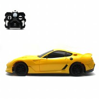 Mainan Remote Control RC Muscle Racing Car - Yellow
