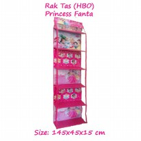 HBOZ Princess Fanta (Rak Tas Gantung Retsleting) Hanging Bag Organizer Zipper