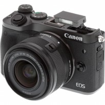 Canon EOS M6 Kit 15-45mm Kamera Mirrorless