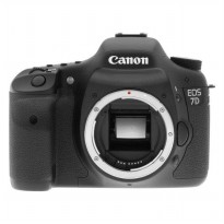 Kamera DSLR Canon EOS 7D Body Only - 18 MP - Hitam