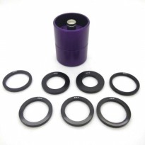 Akiba Hobby - Wheel Piercer Tools (Pembolong Velg Mini4WD) Violet