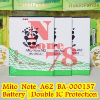 Baterai Mito Note A62 Double IC Protection