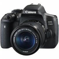 Canon EOS 750D-EF-S 18-55mm IS STM Kit Kamera DSLR