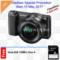 Sony ILCE-5100L Kit 16-50mm f3.5-5.6 OSS - Black
