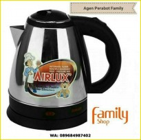 TEKO LISTRIK AIRLUX / ELECTRIC KETTLE STAINLESS 1,5 L