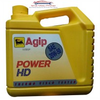 Agip Power HD 20W-50 - Oli Mobil Mesin Bensin 4 Liter Original