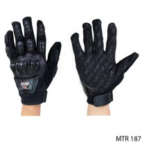 Gloves For Motorbike Kain Hitam – MTR 187