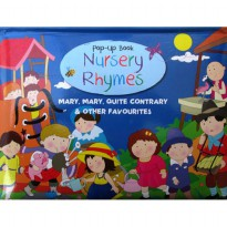 [Hellopandabooks] Mary Mary Quite Contrary & Other Favourites Nursery Rhymes Pop-Up Book