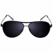Kacamata Hitam Polarized Sunglasses Aviator Style Anti UV