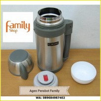 SHUMA 1.2L TERMOS AIR PANAS DAN DINGIN WIDE MOUTH FLASK STAINLESS