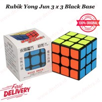 Rubik 3 x 3 Yong Jun Black Base Speed Cube
