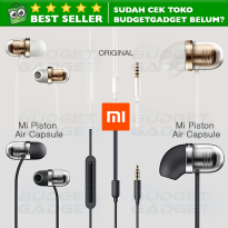 Xiaomi Mi Piston Air Capsule Earphone Headset BASS + Mic ORIGINAL
